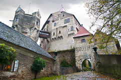 Castle Pernshtein. Czech republic Royalty Free Stock Images