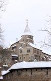 Castle Pernstejn Royalty Free Stock Photography