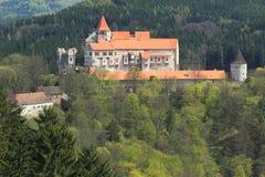 Castle Pernstejn Stock Photography