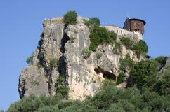 Castle Of Petrele, Tirana - Albania Stock Images