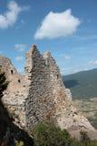 Castle of Peyrepertuse Stock Photos