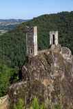 Castle of Peyrusse le Roc Stock Photography