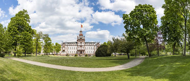Castle Phillipsruhe in Hanau Stock Photo