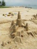 castle piasku obrazy stock