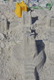 castle piasku Obrazy Royalty Free