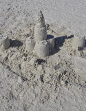 castle piasku Zdjęcie Stock