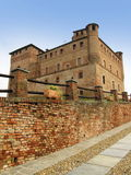 Castle in piedmont region Stock Photography