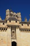 Castle of Pierrefonds Stock Photo