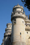 Castle of Pierrefonds Royalty Free Stock Photo