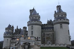 Castle Pierrefonds Royalty Free Stock Photos