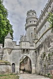 Castle of Pierrefonds Royalty Free Stock Photos
