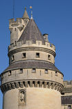 Castle of Pierrefonds in Picardie Royalty Free Stock Photography