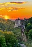 Castle Pieskowa Skala στην Πολωνία στοκ φωτογραφίες