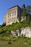 Castle Pieskowa Skala Στοκ φωτογραφία με δικαίωμα ελεύθερης χρήσης