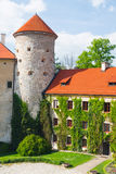 Castle Pieskowa Skala Stock Photo