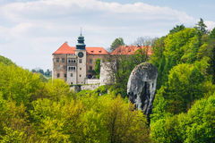 Castle Pieskowa Skala Royalty Free Stock Photography