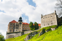 Castle Pieskowa Skala Royalty Free Stock Photos