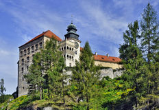 Castle Pieskowa Skala in Poland Royalty Free Stock Photos
