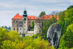 Castle Pieskowa Skala, Poland Royalty Free Stock Images