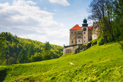 Castle Pieskowa Skala, Poland Royalty Free Stock Photo