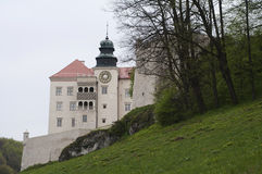 Castle in Pieskowa Skala Royalty Free Stock Photography