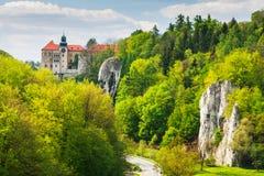 Castle Pieskowa Skala, Poland Stock Photos