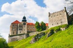 Castle Pieskowa Skala, Poland Stock Image