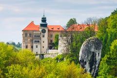 Castle Pieskowa Skala, Poland Stock Photography