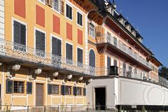Castle Pillnitz Stock Photography