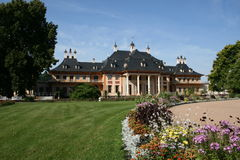 Castle Pillnitz Stock Image