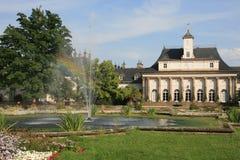 Castle Pillnitz Stock Photography