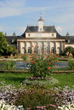 Castle in Pillnitz. The New Palace is part of the historical castle Pillnitz in Saxony, Germany royalty free stock photo