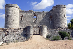 Castle Pioz Στοκ εικόνα με δικαίωμα ελεύθερης χρήσης