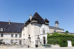 Castle of Pizay in Beaujolais Stock Images
