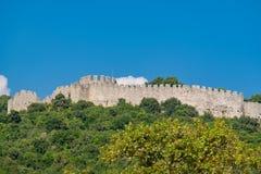 Castle of Platamonas. Greece Stock Image