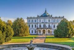 Ploskovice castle, Czech republic. Castle Ploskovice is baroque castle in the village of Ploskovice in North Bohemia, Czech republic Royalty Free Stock Photos
