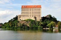 Castle Plumlov, Δημοκρατία της Τσεχίας, Ευρώπη Στοκ εικόνα με δικαίωμα ελεύθερης χρήσης