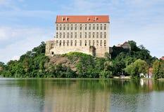 Castle Plumlov, Μοραβία, Τσεχία, Ευρώπη Στοκ Φωτογραφία