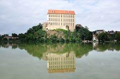 Castle Plumlov, Czech republic, Europe Royalty Free Stock Photos