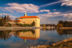 Castle Podebrady Στοκ Φωτογραφία