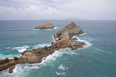 Castle Point, Guadeloupe Royalty Free Stock Image