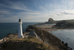 Castle Point Lighthouse Royalty Free Stock Photography