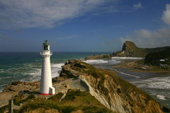 Castle point lighthouse 2 NZ Stock Photography