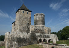 Castle in Poland Stock Photography