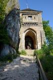 Castle in Poland (Ojców) Stock Image