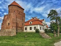 Castle in Poland Royalty Free Stock Photography