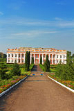 Castle of Polish magnate in Ukraine (XVIII-XIX) Stock Photos