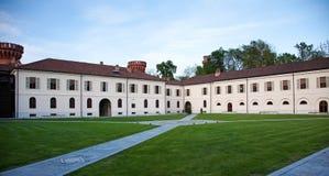 Castle of Pollenzo, Bra, Cuneo. Royalty Free Stock Photos