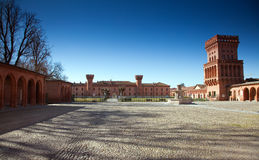 Castle of Pollenzo, Bra, Cuneo. Royalty Free Stock Image