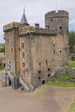 Castle in Pontgibaud Stock Photos